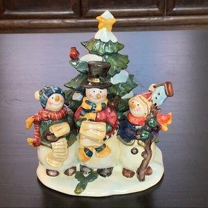 Kurt Adler Caroling Snowmen Figurine